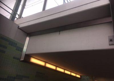 Conserveren RVS stationstunnel